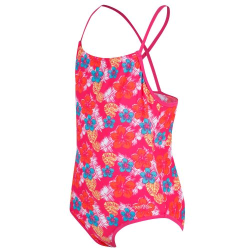 Regatta TAKISHA SWIMMING COSTUME - Hot Pink Tropical Print